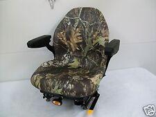 Camo Suspension Seat,Hustler,Exmark,Toro, Bobcat,Bunton,Dixie Chopper,Ztr #Hf