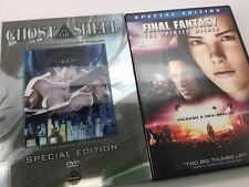 DVDs Final Fantasy & Ghost In The Shell