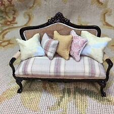 pin miniature dollhouse crafts craftsman style and or pinterest couch inch mission miniatures scale sofa arts furniture