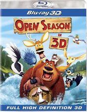 OPEN SEASON New Sealed Blu-ray 3D
