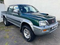2004 MITSUBISHI L200 2.5 4LIFE LWB 4WD DOUBLE CAB PICK UP - PX CLEARANCE