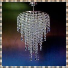 Chandelier Chrome Lead Crystal Glass Ceiling Light Lamp Lighting MOSS40MIXPencil