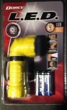 DORCY 41-4235-YL  28-Lumen 9-LED Flashlight with Angle Head-YELLOW