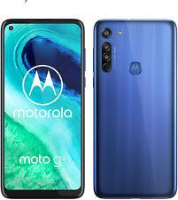 Nuevo Motorola Moto G8 Neon Blue 64GB Doble SIM Andriod 10 desbloqueado Sim Gratis