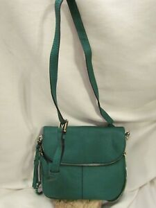 Vince Camuto Lamb Leather Crossbody Bag - Cory EMERALD ISLE $168
