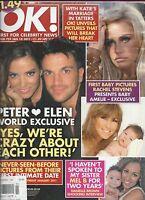 Ok Magazine Peter Andre Katie Price Rachel Stevens Justin Bieber Kelly Osbourne