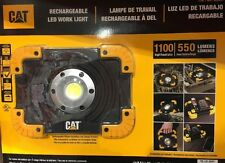 CAT Rechargeable LED WorkLights 1100 High/ 550 Low Lumens |NO SALES TAX|