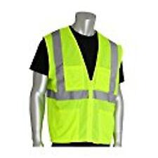ANSI Class 2 Hi-Visibility Yellow Public Safety Vest (4x/5x)