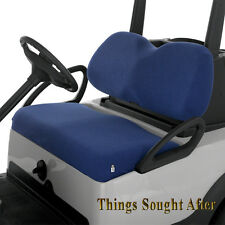 BLUE TERRY CLOTH GOLF CART SEAT COVER for E-Z-GO EZGO CLUB CAR YAMAHA Others