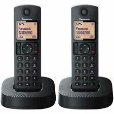Panasonic KX-TGC312EB Black Digital Cordless Phone - 2 Pieces