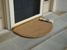 "Half Round Dragon Coir Doormat 1"" Thick - 18 by 30-Inch"