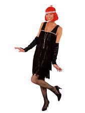 Kostüm Charleston Kleid Fransenkleid 20er Jahre Karneval Fasching 44/46