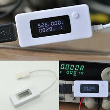 LCD USB Charger Capacity Current Voltage Tester Meter For phone power bank eck