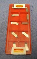 SANDVIK     Carbide  Inserts    N123F2-0300-R0     GRADE H13A    Pack of 10