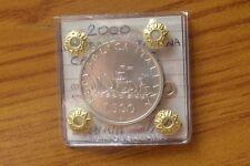 MONETA REPUBBLICA ITALIANA 500 LIRE CARAVELLE 2000 ARGENTO sigillata FDC