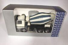 NZG 449 MB Actros Betonmischer weiss/ blau