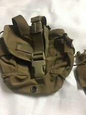 Us Military Coyote 1 Qt Canteen Pouch Molle 1 Quart Gp Pouch Missing snaps
