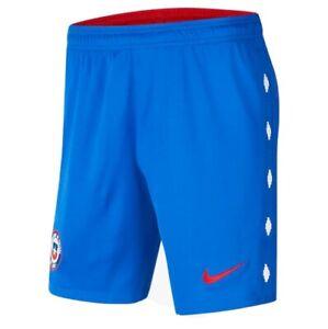 NWT Nike 2020-21 Chile Stadium Home Shorts Men's Large Slim CD0855-405