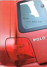 Volkswagen Polo Hatchback 2000-01 UK Market Sales Brochure E S SE 16v GTi