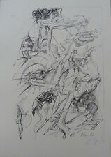 GIGER POLTERGEIST SKETCH LITHO from Biomechanics Ltd Book EA/300 Version #1