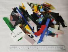 5+ lbs. 96 COE ColoredFusible Glass Scrap #7