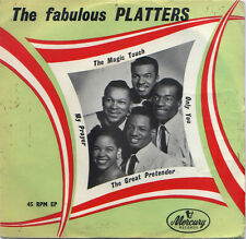 """PLATTERS  """"MAGIC TOUCH, ONLY YOU""""    THE FABULOUS PLATTERS EP VOL. 1   LISTEN!"""