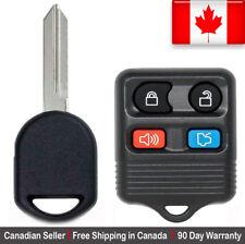 1x Remote & Transponder Ignition Key Ford Mazda Works for 80 / 40 bit Chip Keys