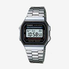 Casio Classic Digital Watch A168W Illuminator Silver Design Unisex Retro Vintage