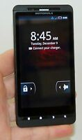 Motorola Droid-X Verizon BLACK Smart Cell Phone Bluetooth WiFi vCast MB809 -A-