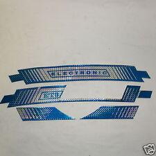 Serie Fregi Adesivi Sacche e Parafango Piaggio Vespa ET3 BLU C/S Electronic