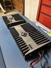old school rockford fosgate punch amplifiers 400a4 and 800a2