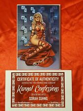 KARNAL CONFESSIONS KICKSTARTER EDITION VARIANT BY RICHARD ORTIZ LADY DEATH W/COA