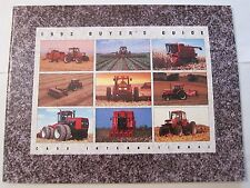 1993 Case International Tractor Equipment Buyer's Guide Catalog LOTS More Listed