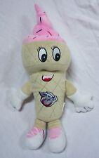 "LV Iron Pigs PINK STRAWBERRY ICE CREAM CHARACTER MASCOT 13"" Plush STUFFED Toy"