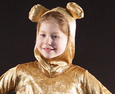 Teddy Bears Picnic-World Book Day-GOLDEN BROWN BEAR HOOD-Kids Fancy Dress