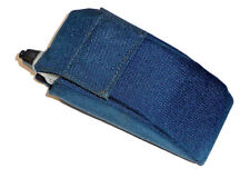 MOTOROLA FLIP CELL PHONE TELEPHONE Vintage CARRY CASE HOLSTER Blue NEW/NOS *USA*