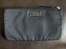 COACH Black Cosmetic Travel Pouch Case Clutch Bag