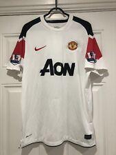 2010-11 Manchester United Away Shirt - Medium -*Ronaldo JR 7 On Back*