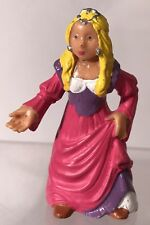 "Vintage Princess And The Frog 3"" Figure Bully West Germany Pink Fairy Tale Rare"
