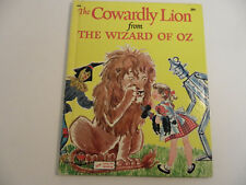 The Cowardly Lion from the Wizard of Oz - Wonder Books