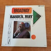 Count Basie; Broadway Basie's...Way    Command Records