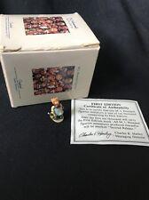 Mini Olszewski Hummel Visiting An Invalid 256-P 1st Edition With Box
