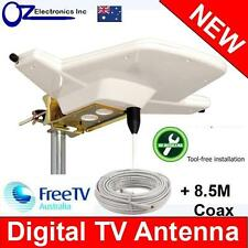 Outdoor Digital TV Antenna Amplified Aerial Booster DAB Uhf/vhf Caravan RV Boat