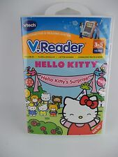 Vtech V-Reader Hello Kitty Kitty's Surprise NEW Sealed Game E-Reading System