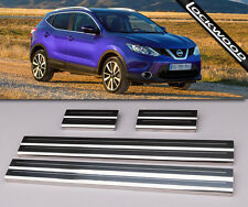 NISSAN QASHQAI (5 Seater) Stainless Steel Sill Protectors/Kick plates