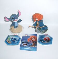 DISNEY INFINITY 2.0 Brave & Stitch Character Figure Forest Siege Tropical Rescue