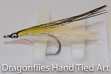 3 Saltwater Deceiver Minnows YELLOW White stainless steel hooks by Dragonflies