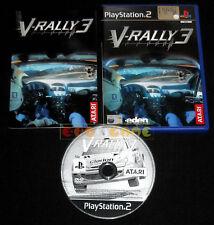 V-RALLY 3 Ps2 Versione Ufficiale Italiana V Rally 1ª Edizione »»»»» COMPLETO