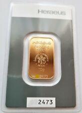 10g Gramm Goldbarren