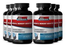 Ginko Biloba - Brain & Memory Booster 777mg - Neuromuscular Innervation Pills 6B